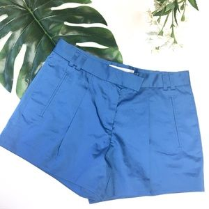 French Connection Classic Short Sz 6 Blue 1213